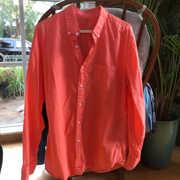 J Crew Light Weight Shirt Large, casual shirt